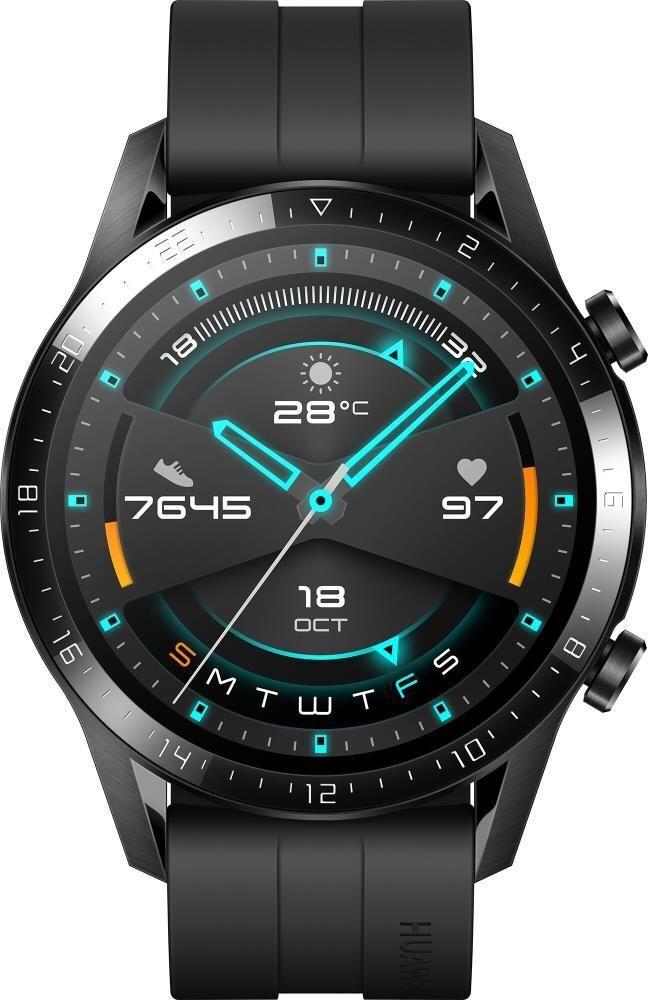 Умные часы Huawei Watch GT 2, 46 мм, матовый черный #1