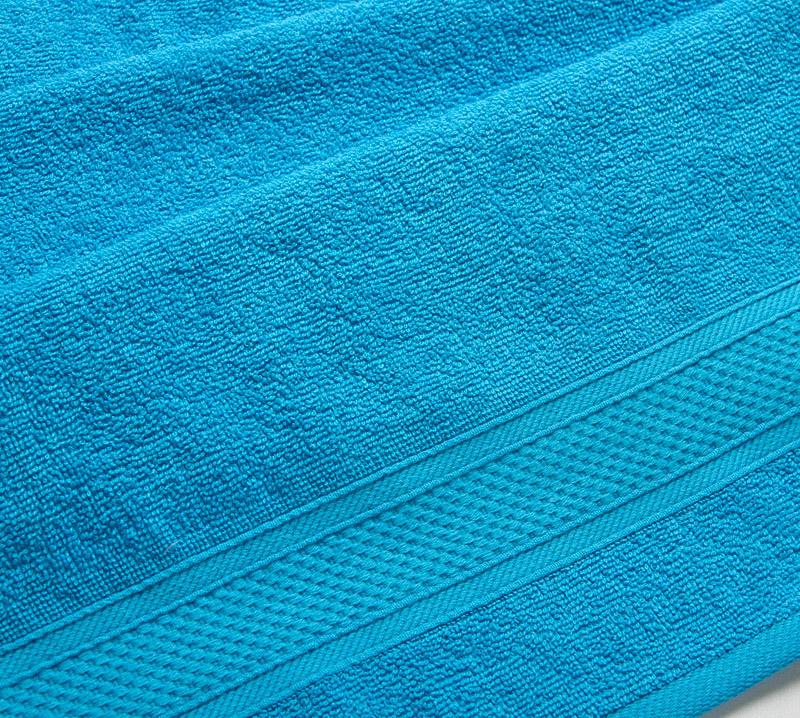 Полотенце банное Текс-Дизайн Neo Махровая ткань, 100x180 см, голубой  #1