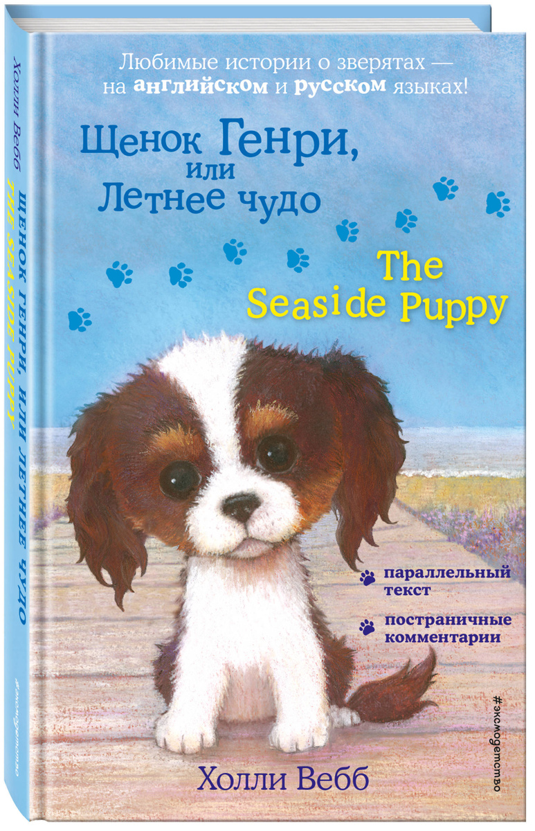 Щенок Генри, или Летнее чудо = The Seaside Puppy | Вебб Холли #1