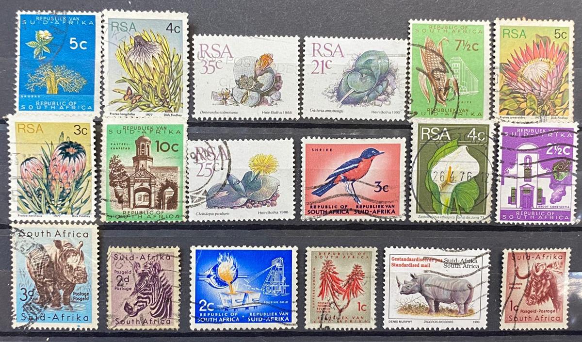 Редкие марки из юар каталог с фото