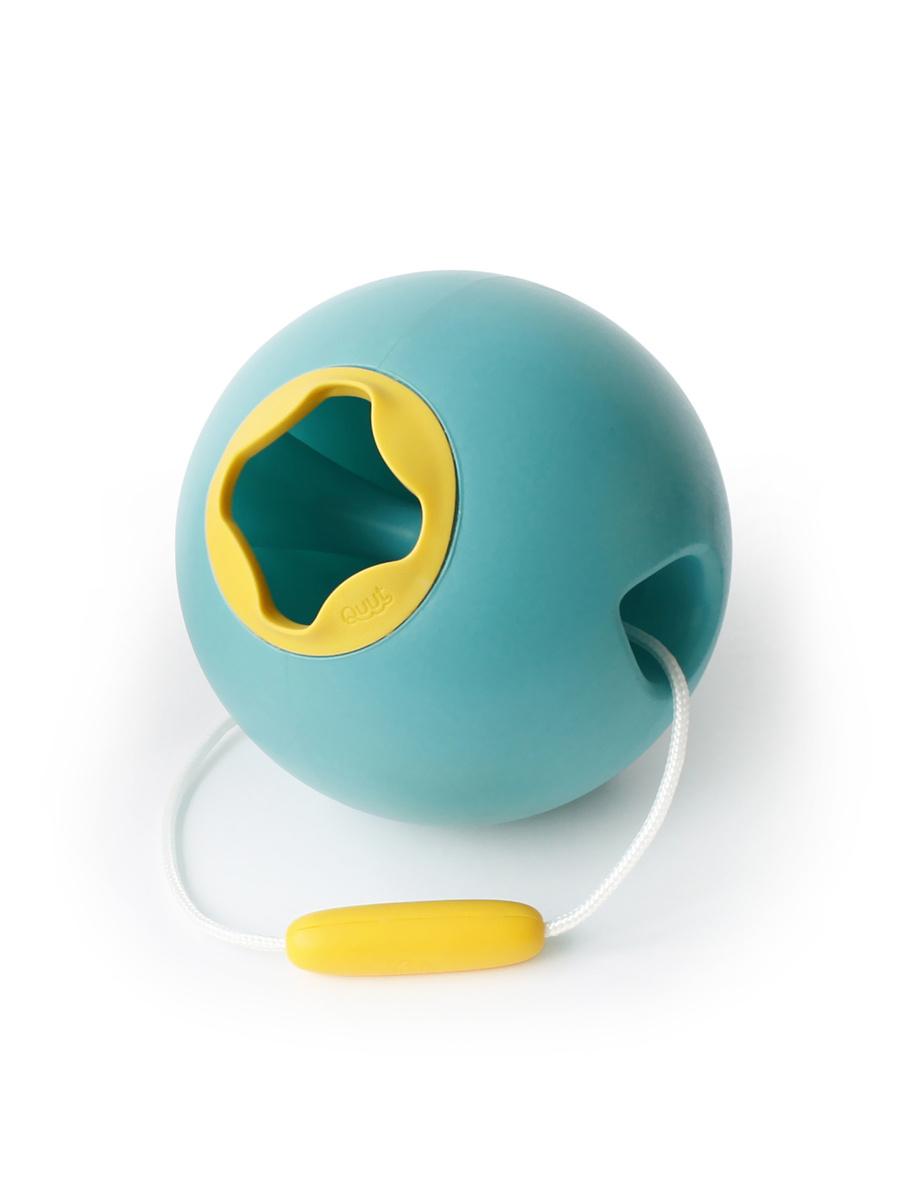Ведёрко для воды Quut Ballo. Цвет: зелёная лагуна и спелый жёлтый  #1