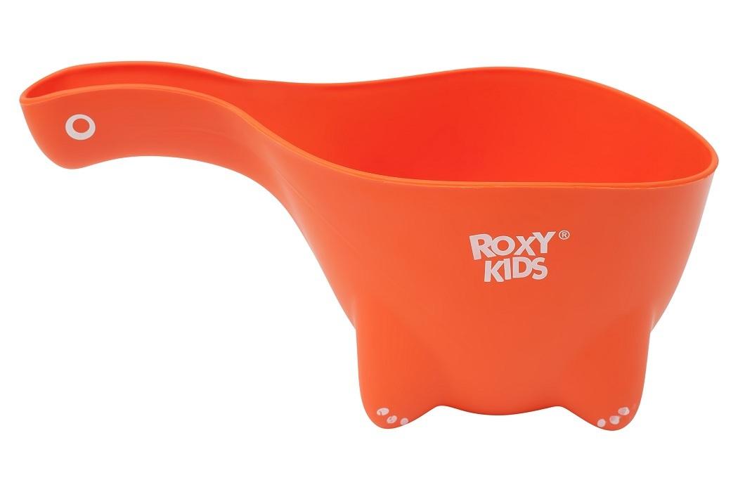 Ковш детский для мытья головы и купания DINO SCOOP от ROXY-KIDS, цвет оранжевый  #1