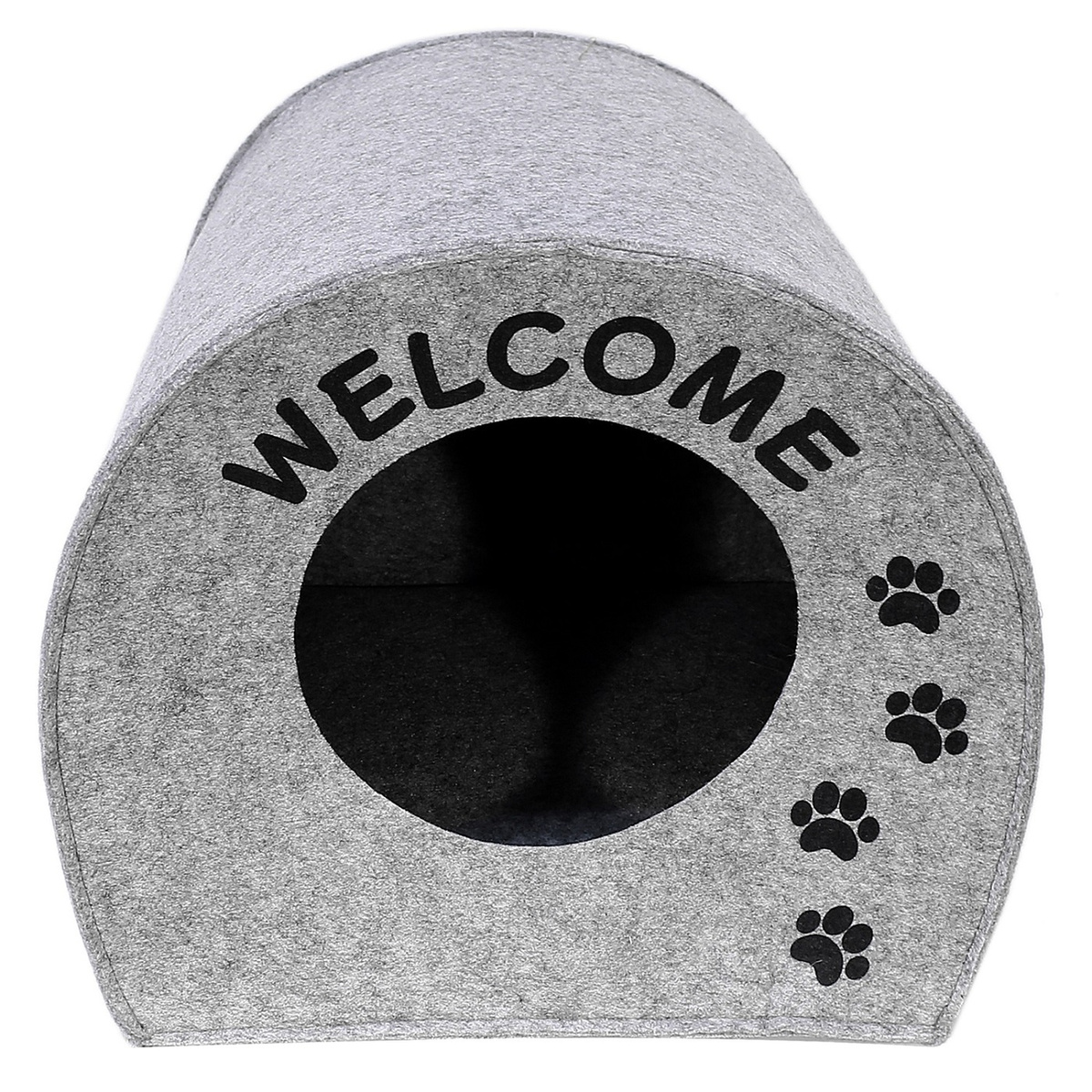 "Домик для животных Eva ""Будка WELCOME"", войлок, 33х33х45см #1"