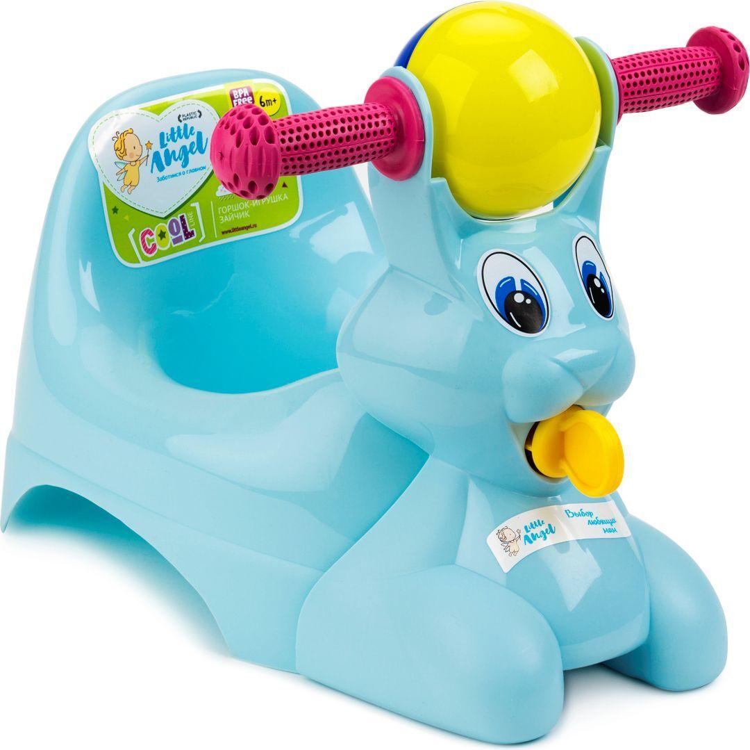 Little Angel Горшок-игрушка Зайчик цвет голубой #1