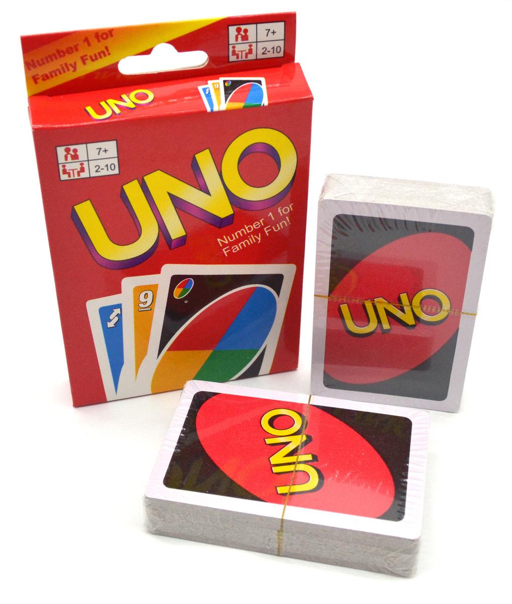 Настольная карточная игра UNO Уно #1