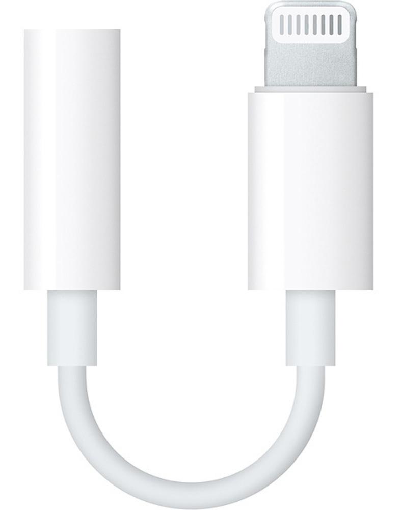 Адаптер-переходник Apple Lightning на 3.5мм Jack, (+поддержка голосовых вызовов)  #1