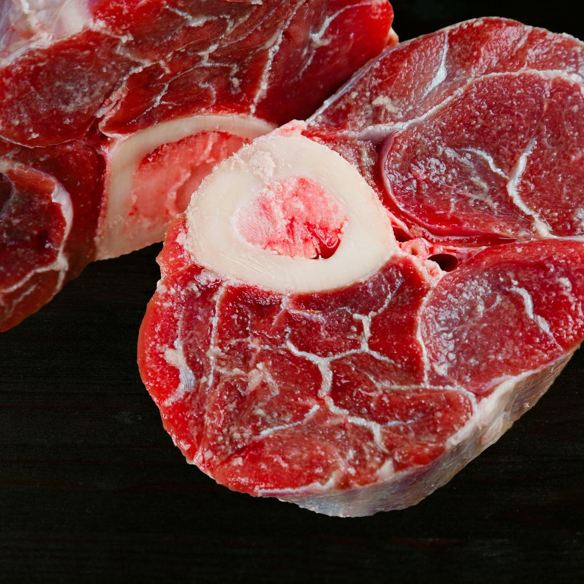 Мясо охлажденное Лучезар Голяшка из говядины, 1 кг #1