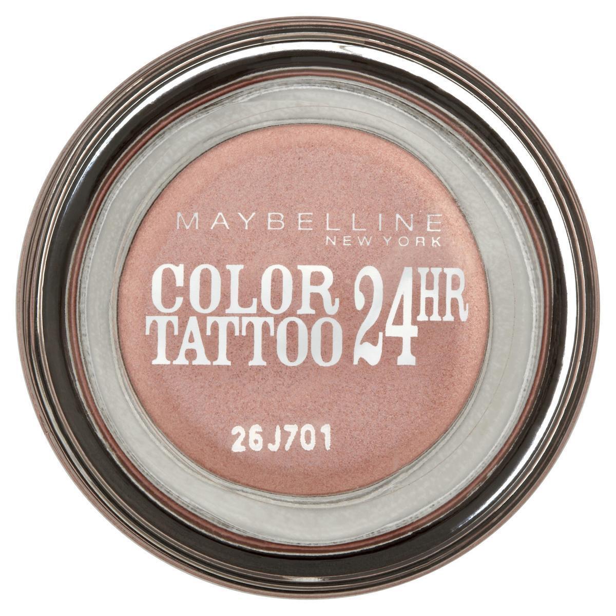 """Maybelline New York Тени для век """"Color Tattoo 24 часа"""", оттенок 65, Розовое золото  #1"""