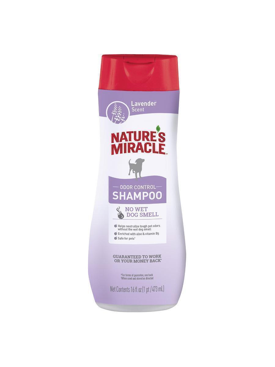 Nature's Miracle Шампунь для собак, от запаха, с ароматом лаванды, 473 мл  #1