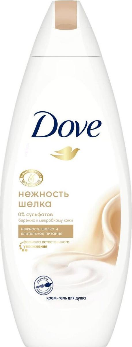 Dove «Нежность шёлка» Крем-гель для душа, бессульфатный, 250 мл  #1