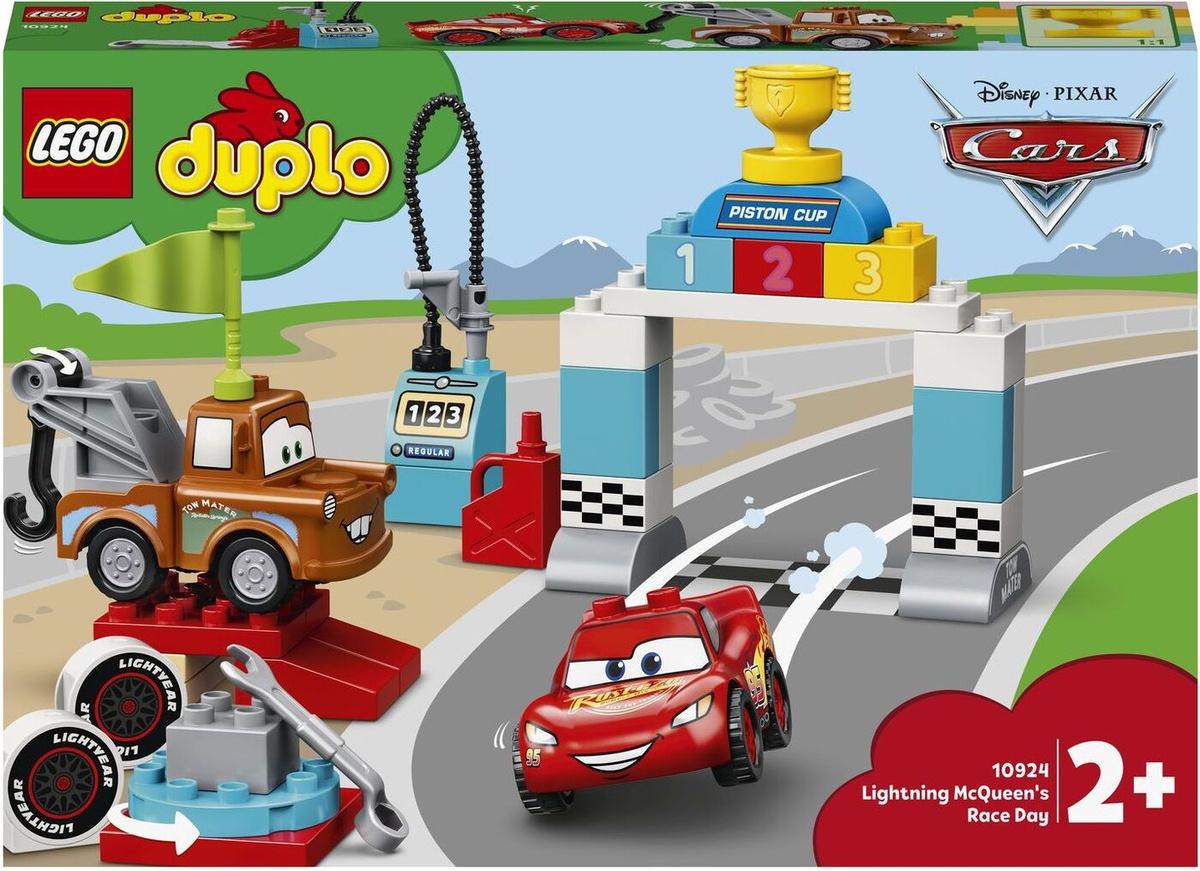 Конструктор LEGO DUPLO & Disney Cars 10924 Гонки Молнии МакКуина #1
