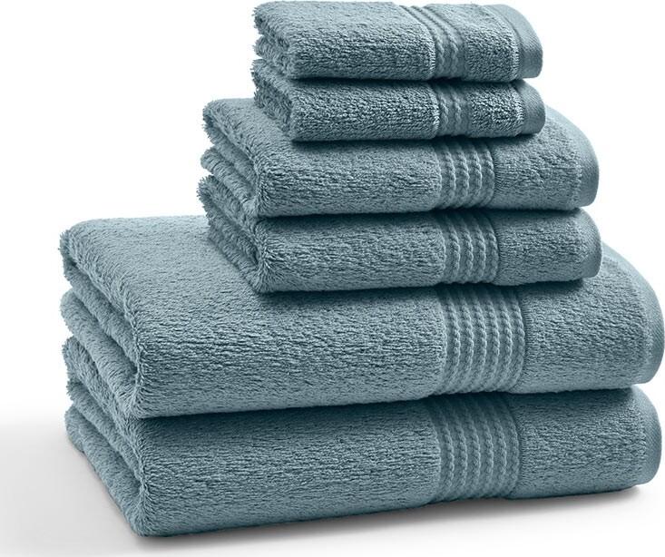 Полотенце для рук мини Long Twist Bluestone