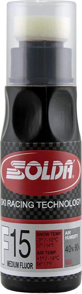 Жидкий парафин со средним содержанием фтора Solda F15, 0015RL, красный, 90 мл
