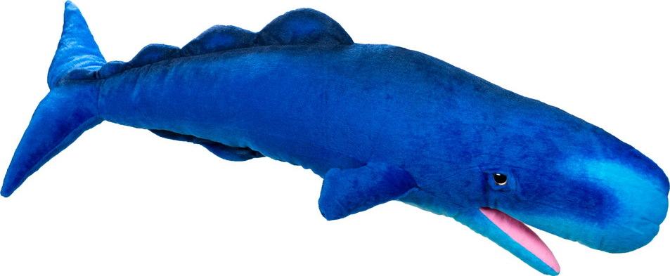 АБВГДЕЙКА Мягкая игрушка Кашалот, 82 см