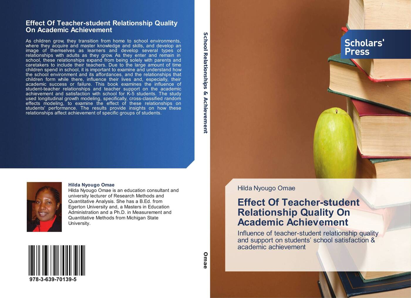 Фото - Hilda Nyougo Omae Effect Of Teacher-student Relationship Quality On Academic Achievement the influence of head teacher evaluation on their professional growth