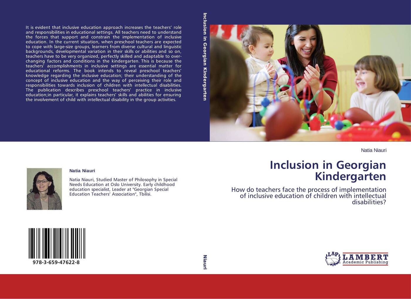 Natia Niauri Inclusion in Georgian Kindergarten karanja david gakunga daniel komo teachers efficacy in the implementation of inclusive education