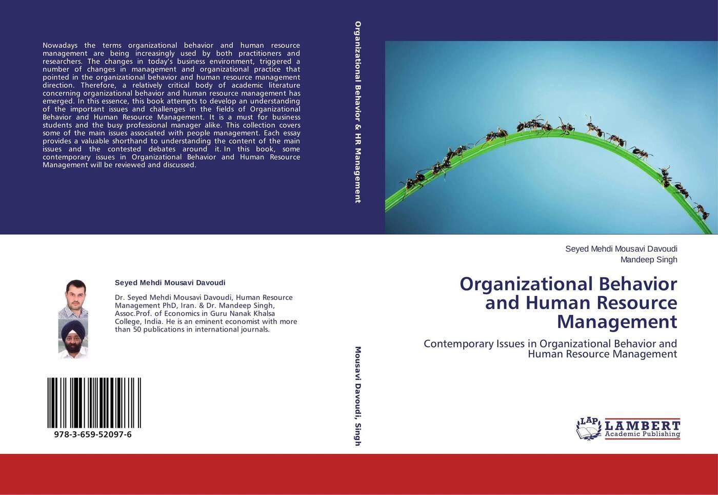 Seyed Mehdi Mousavi Davoudi and Mandeep Singh Organizational Behavior Human Resource Management