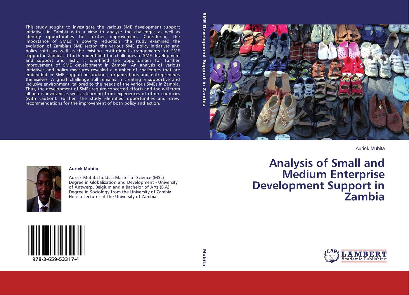 Aurick Mubita Analysis of Small and Medium Enterprise Development Support in Zambia stephen gumboh decentralization policy implementation in zambia
