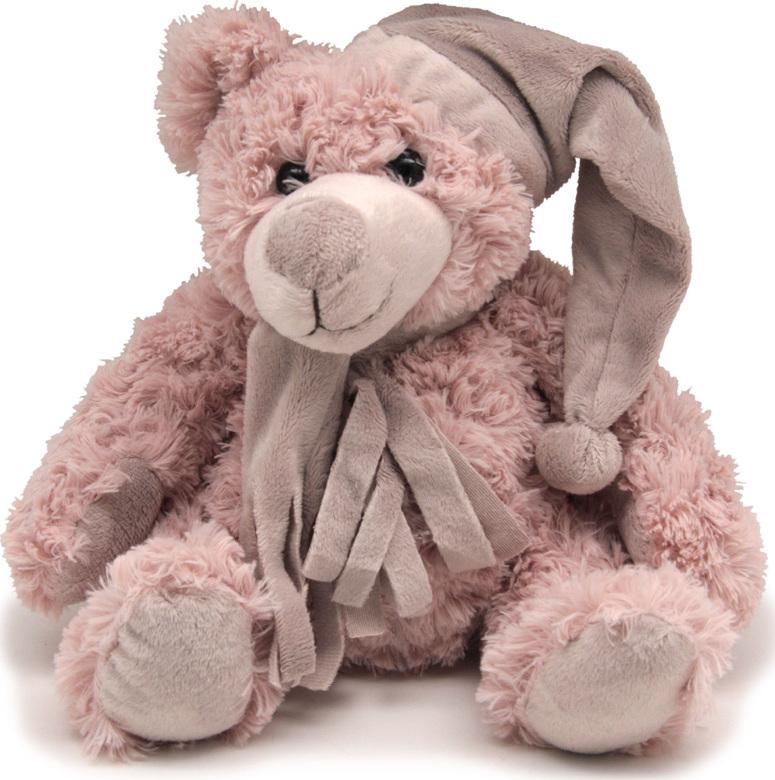 Magic Bear Toys Мягкая игрушка Мишка Дилан в шапке и шарфе 23 см