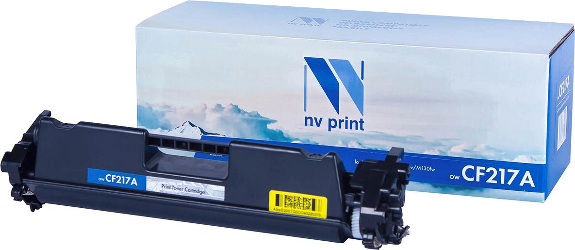 Тонер-картридж NV Print CF217A, черный, для лазерного принтера