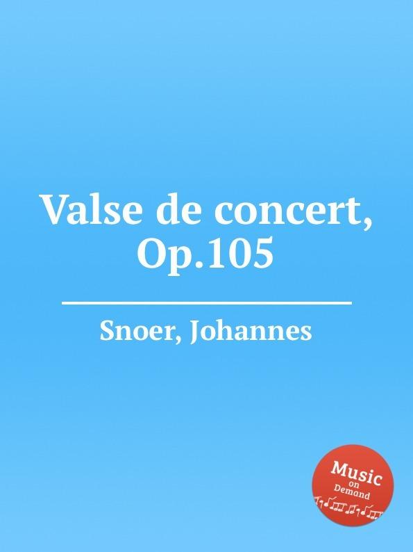 Valse de concert, Op.105