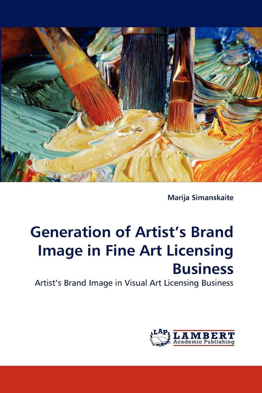 Generation of Artist`s Brand Image in Fine Art Licensing Business