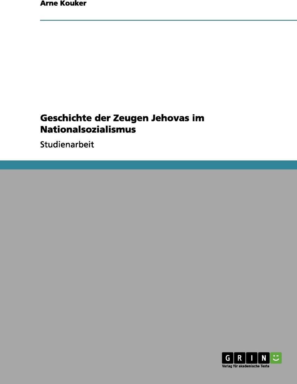 Geschichte der Zeugen Jehovas im Nationalsozialismus