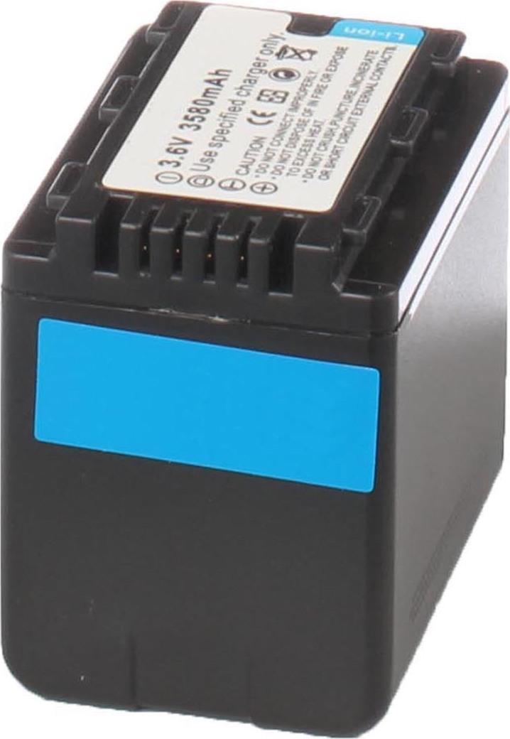 Аккумуляторная батарея iBatt iB-T1-F233 3400mAh для камер Panasonic HC-V500, HC-V100, SDR-S50, HDC-SD40, HC-V700, HC-V10, HDC-SD60, SDR-S70, HDC-TM80, HDC-SD90, HDC-SD80, SDR-H85, HDC-HS60, HDC-TM60, SDR-S45, HDC-HS80, SDR-T50, SDR-H100, SDR-H95,