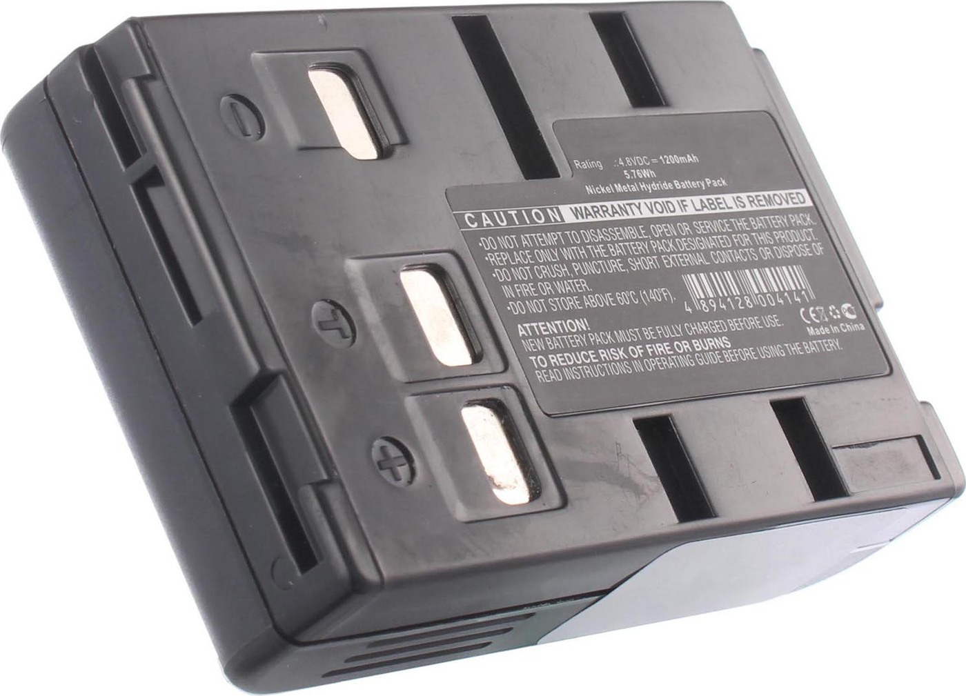 Аккумуляторная батарея iBatt iB-T1-F369 1200mAh для камер Panasonic NV-VX10, NV-VX10EN, NV-A3, NV-RX10EN, NV-R550EN, NV-A1, NV-R100, NV-R50, NV-A1EN, NV-S65E, NV-A5EN, NV-R200, NV-R500EN, NV-RX20EN, NV-A5, NV-R100EN, NV-R500, NV-RX1, NV-RX10,