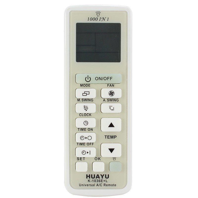 Пульт универсальный Huayu K-1036E+L для кондиционеров