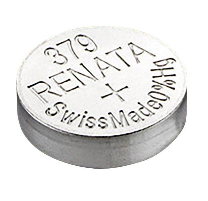 Батарейка Renata 379 (SR521SW)