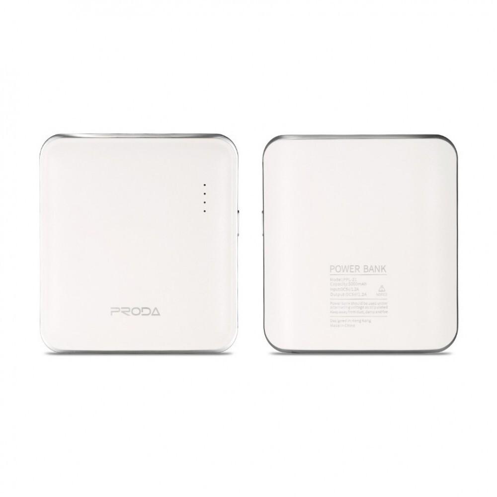 Внешний аккумулятор Remax Proda Mink PPL-21 5000 mAh, белый
