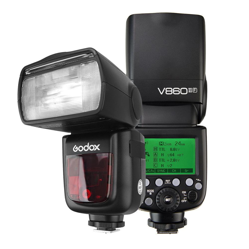 Godox VING беспроводная литий-ионная вспышка камеры