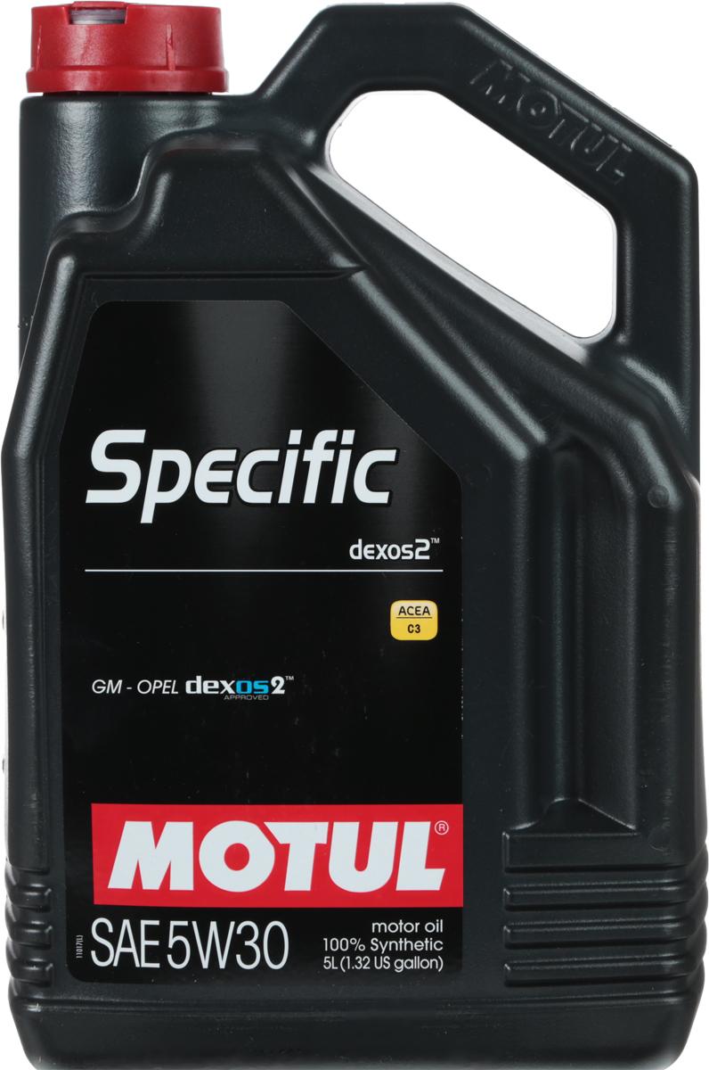 Масло моторное синтетическое Motul Specific Dexos2 5W-30 (5л)