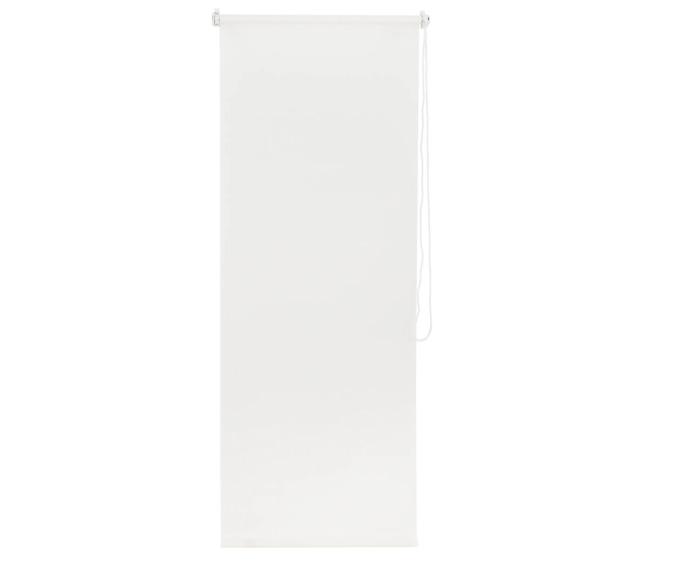 Штора рулонная, 55х160 см, цвет белый-21119