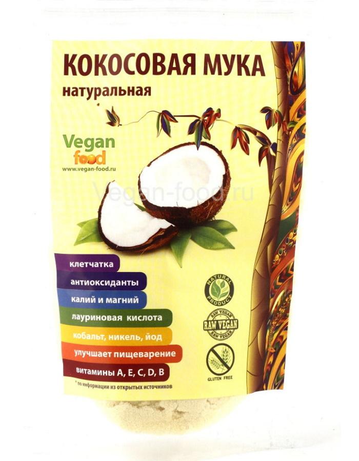 Кокосовая стружка файн 650 г натуральная Vegan food