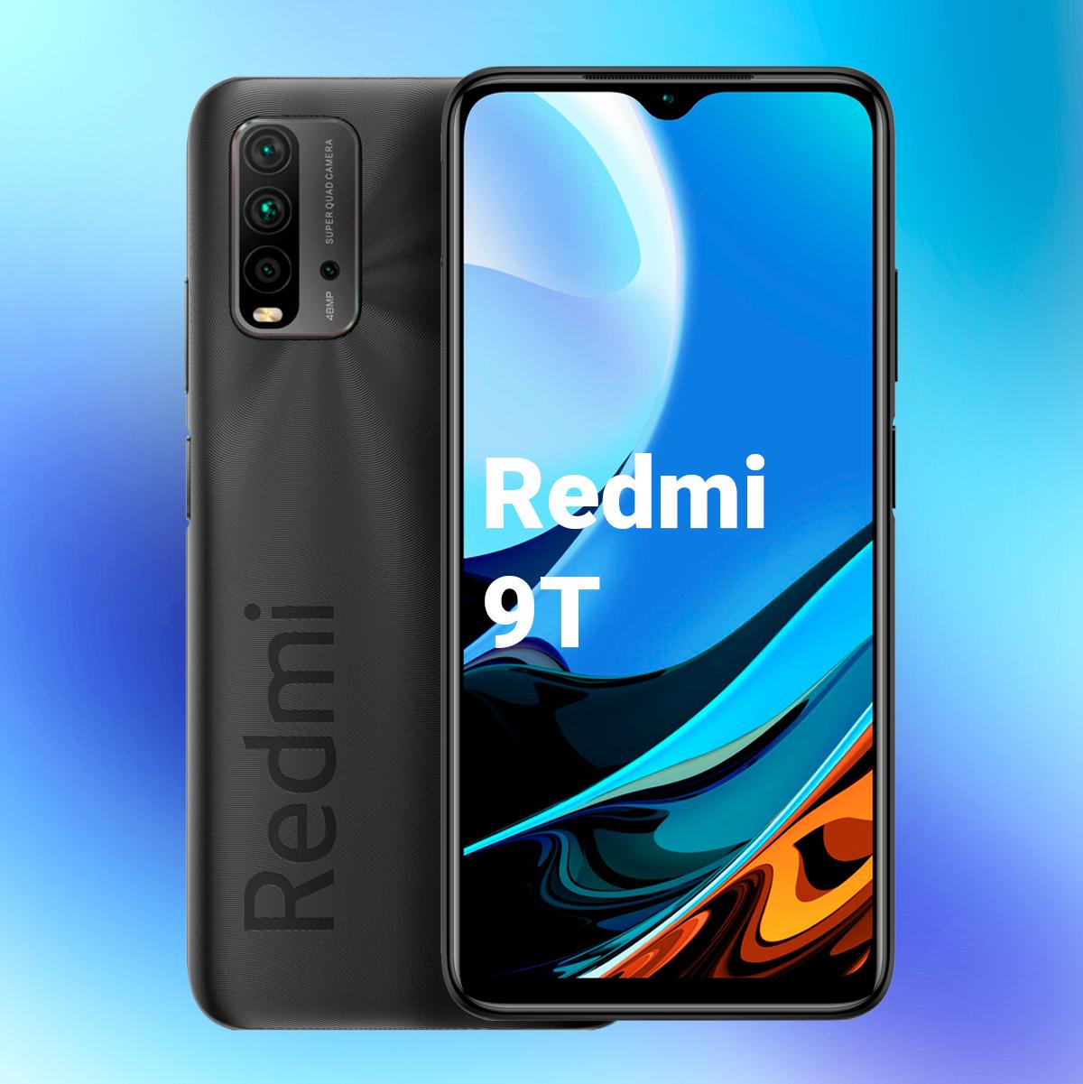 смартфон xiaomi redmi 9t 128 гб. 4/128gb, серый