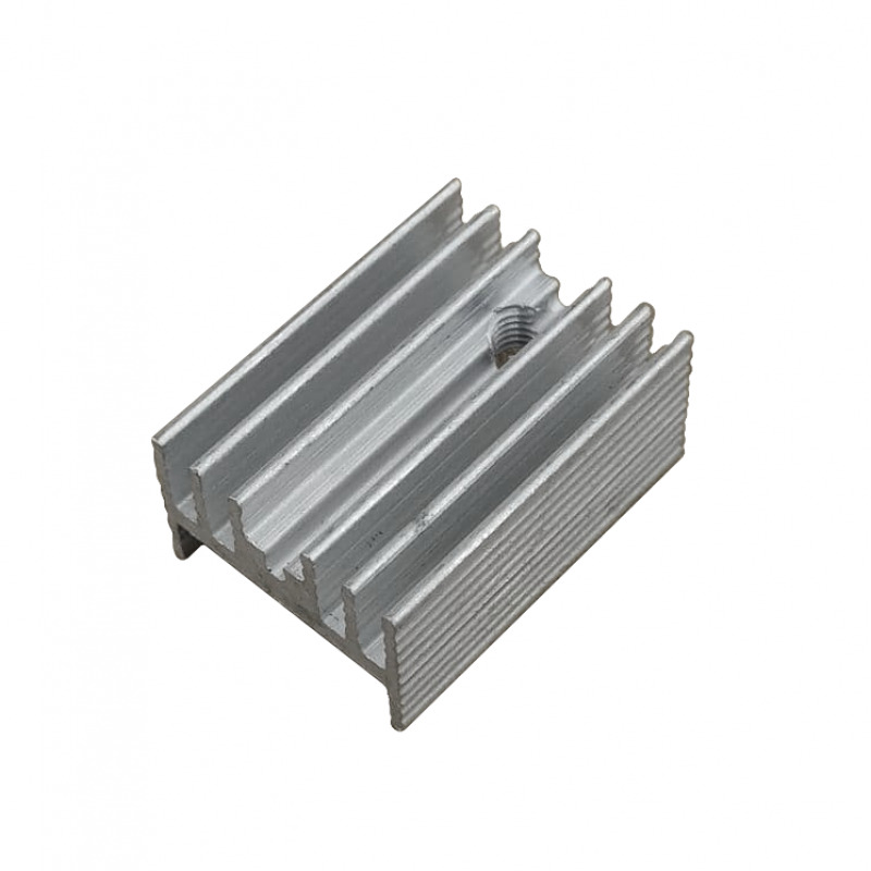 Радиатор алюминиевый ребристый 15х10х20мм, 5шт.