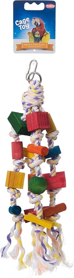 "игрушка для птиц nobby ""подвеска"", 30 см"