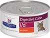 Влажный диетический корм для кошек и котят (консерва) Hill's Prescription Diet i/d Digestive Care при расстройствах пищеварения, жкт, с курицей, 156 г - изображение