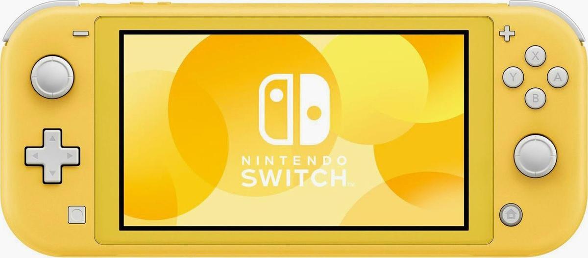 Игровая консоль Nintendo Switch Lite, желтый #1