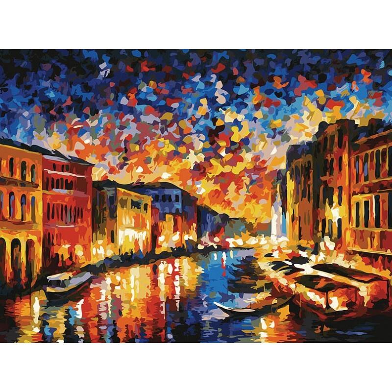 Живопись на картоне 3024-CS Гранд-Канал Венеция #1