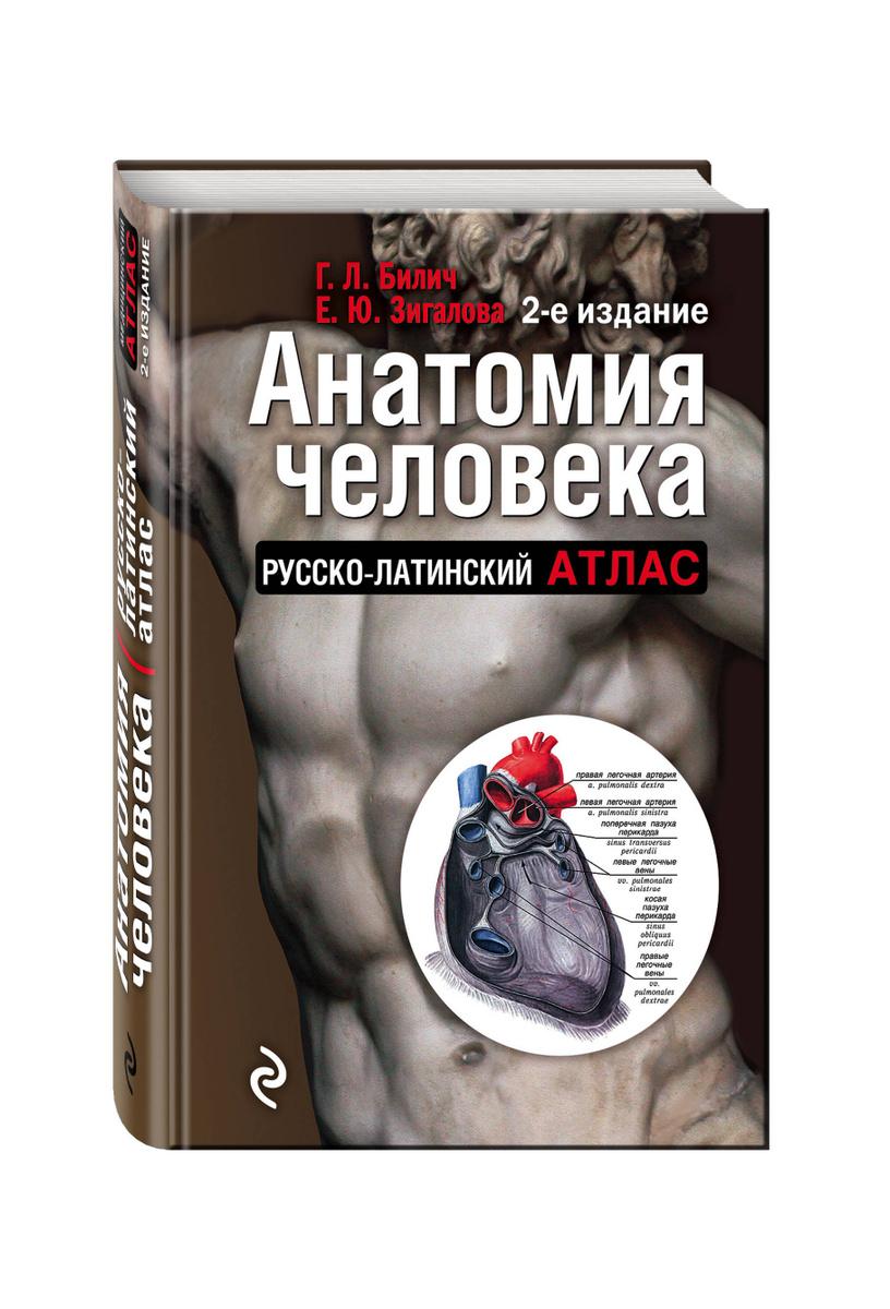 Анатомия человека: Русско-латинский атлас. 2-е издание | Билич Габриэль Лазаревич, Зигалова Елена Юрьевна #1