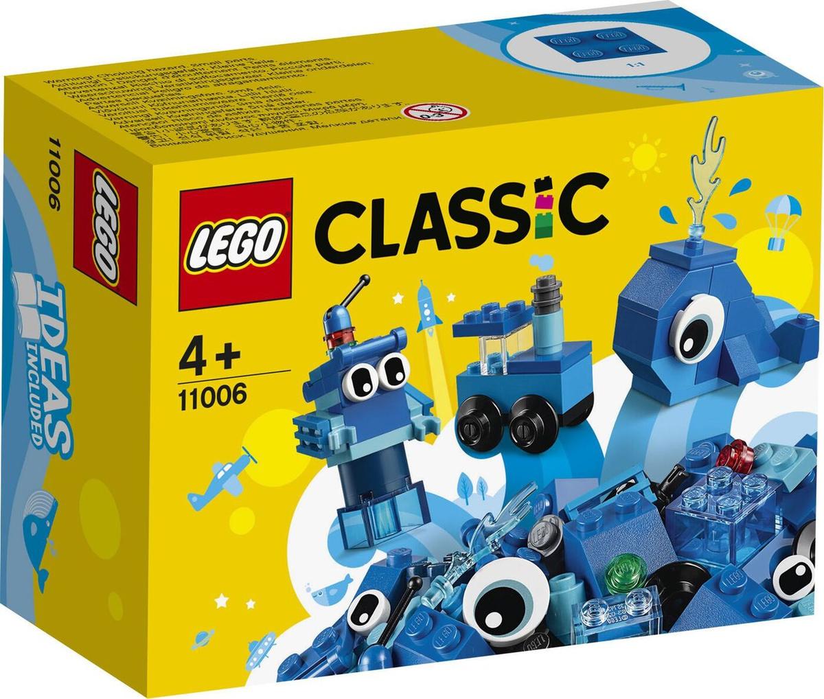 Конструктор LEGO Classic 11006 Синий набор для конструирования  #1