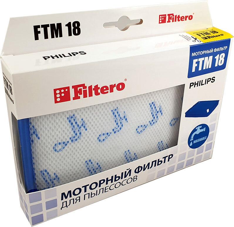 HEPA фильтр Filtero FTM 18 SAM  для пылесосов Philips, 1 шт. #1