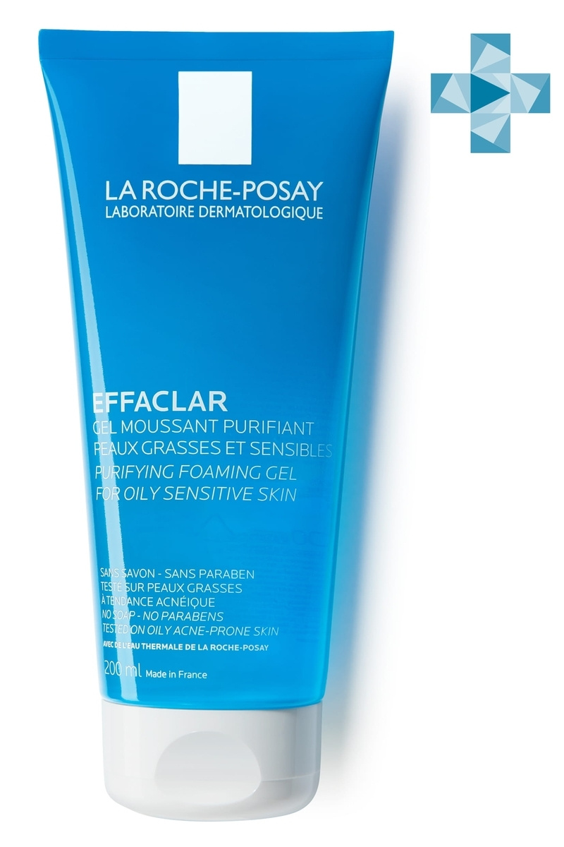 La Roche-Posay Effaclar Гель очищающий, 200 мл #1