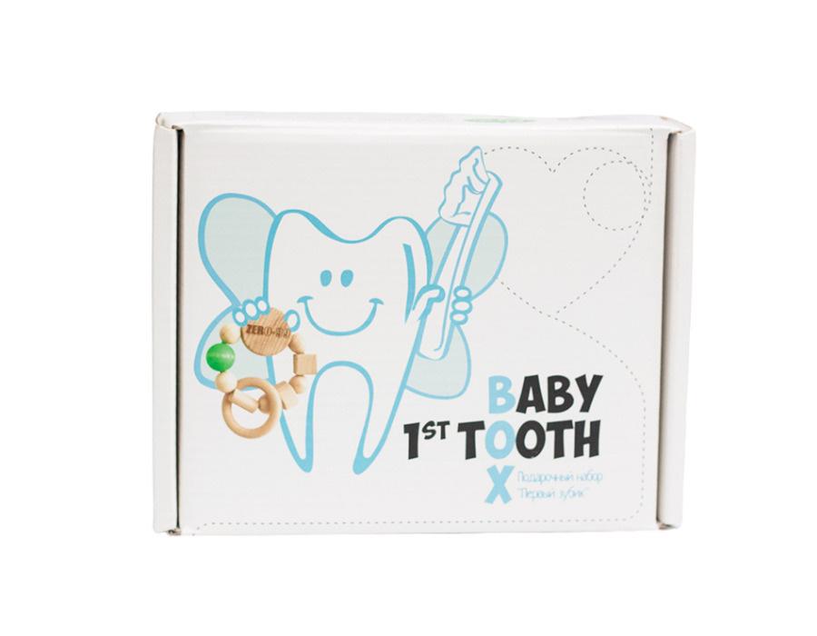 """Набор для прорезывания и ухода за молочными зубами """"Первый зубик""""  #1"""