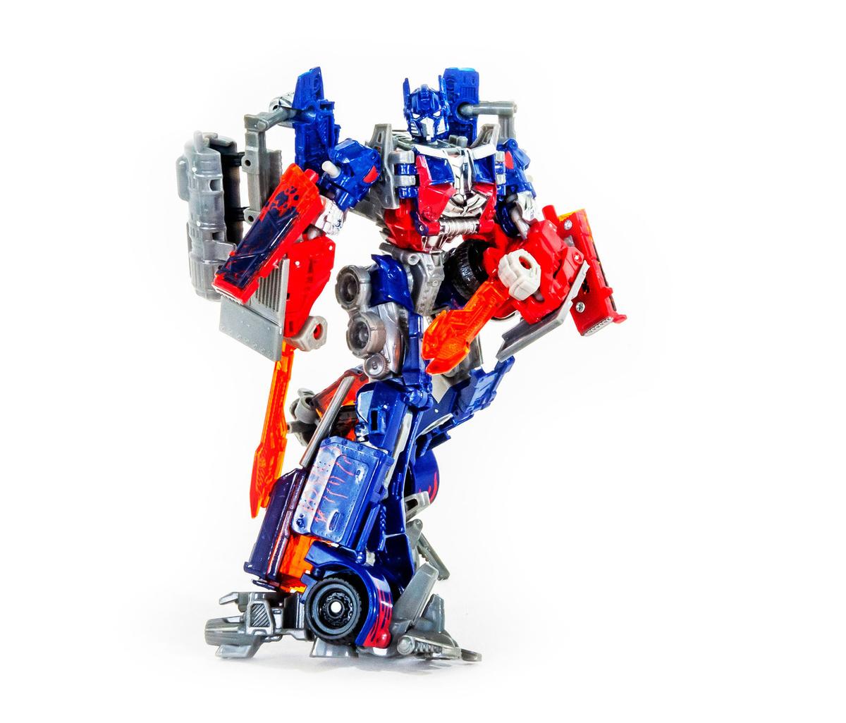 Робот-трансформер SHoucang Оптимус Прайм 18см — купить в ...