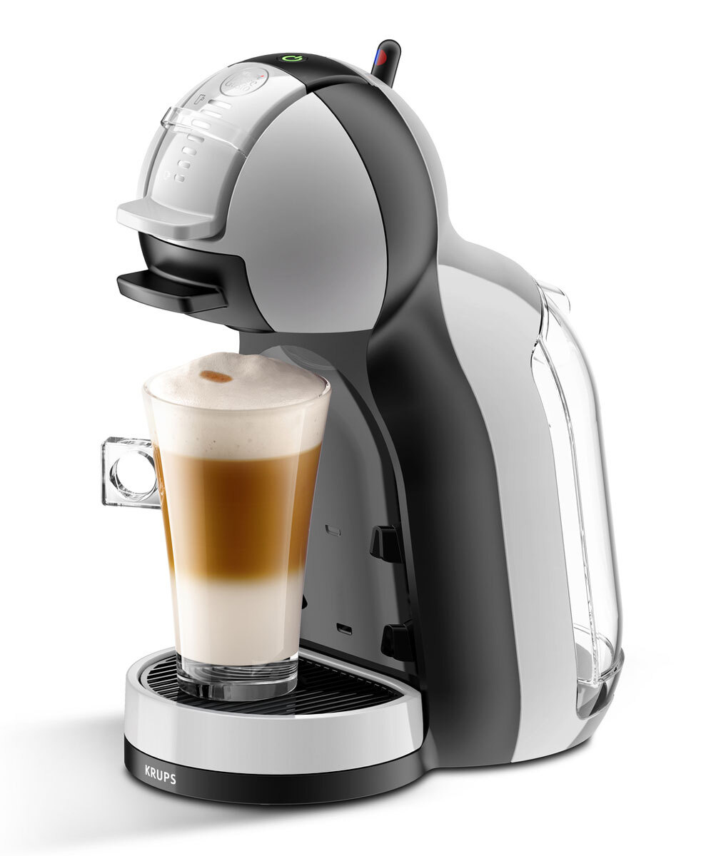 Капсульная кофемашина Krups Nescafe Dolce Gusto Mini Me KP123B10, серый #1