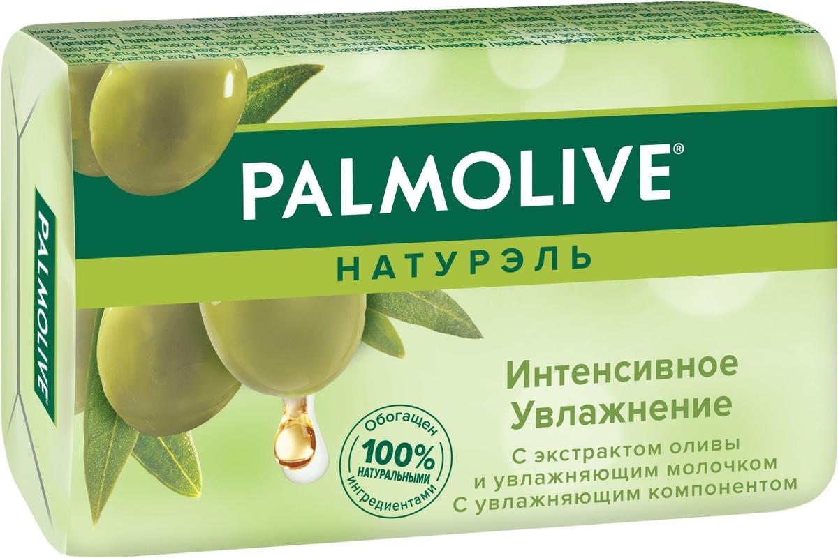 """Palmolive Мыло туалетное Натурэль """"Интенсивное увлажнение"""", с экстрактом оливы и молочком, 90 г  #1"""